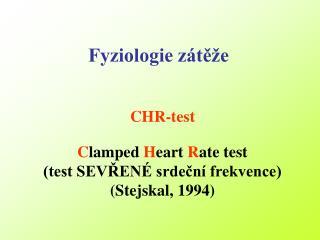 CHR-test