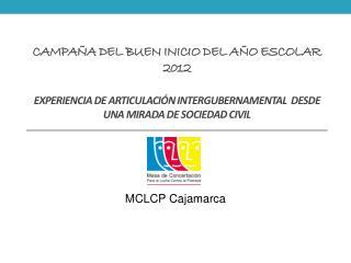 MCLCP Cajamarca