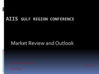 AIIS  Gulf Region Conference