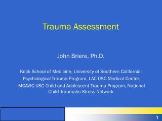 Trauma Assessment