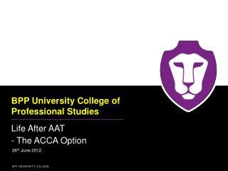 BPP University College of Professional Studies