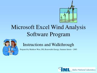 Microsoft Excel Wind Analysis Software Program