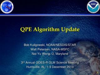 QPE Algorithm Update
