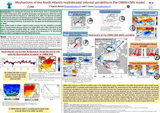 Mechanisms of the North Atlantic multidecadal internal variability in the CNRM-CM5 model
