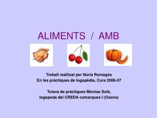 ALIMENTS  /  AMB