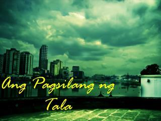 Ang Pagsilang ng Tala