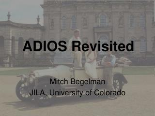 ADIOS Revisited