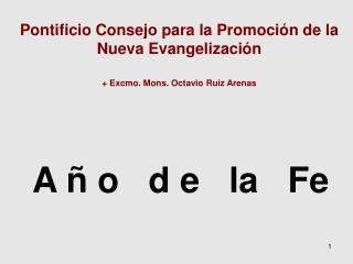 A ñ o   d e   la   Fe