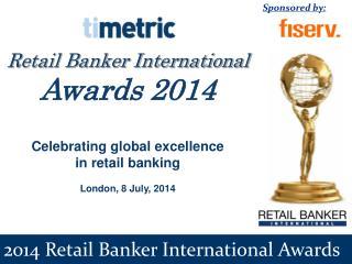 2014 Retail Banker International Awards