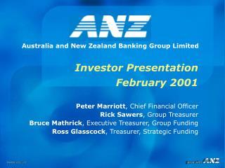 Investor Presentation February 2001