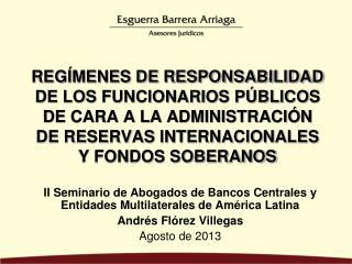 II Seminario de Abogados de Bancos Centrales y Entidades Multilaterales de América Latina