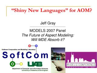 """Shiny New Languages"" for AOM?"