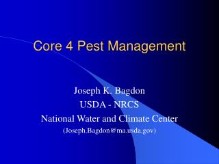 Core 4 Pest Management
