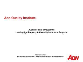 Aon Quality Institute