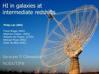 HI in galaxies at intermediate redshifts