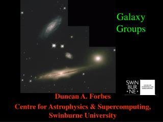 Galaxy  Groups