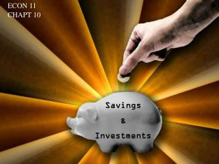 Savings & Investments