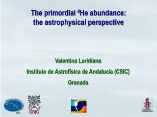 The primordial  4 He abundance: the astrophysical perspective