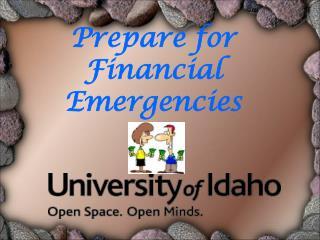 Prepare for Financial Emergencies