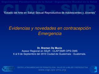 """""""Estado del Arte en Salud Sexual Reproductiva de Adolescentes y Jóvenes"""""""