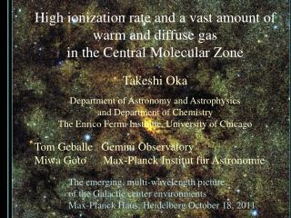 High ionization rate and a vast amount of warm and diffuse gas  in the Central Molecular Zone