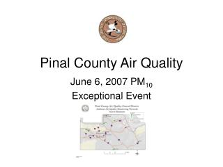 Pinal County Air Quality