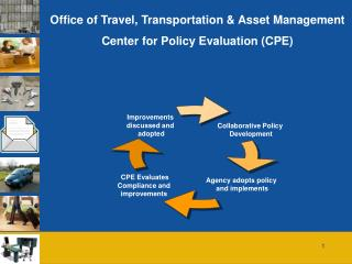 Office of Travel, Transportation & Asset Management Center for Policy Evaluation (CPE)