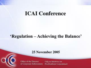 ICAI Conference