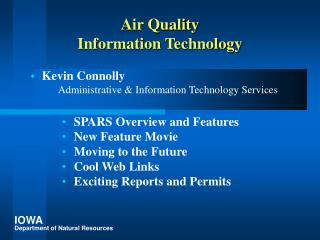 Air Quality Information Technology