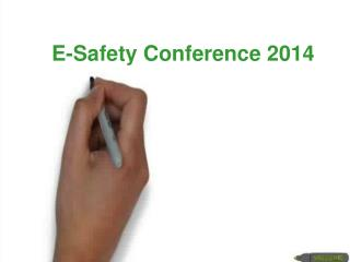E-Safety Conference 2014