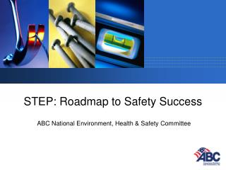 STEP: Roadmap to Safety Success