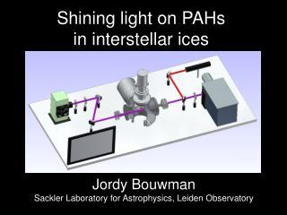 Shining light on PAHs  in interstellar ices