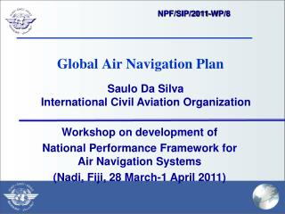 Global Air Navigation Plan