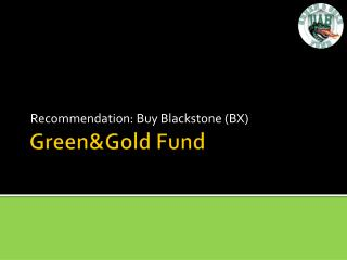 Green&Gold  Fund