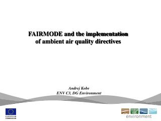 FAIRMODE and the implementation of ambient air quality directives