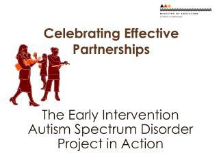 Celebrating Effective Partnerships
