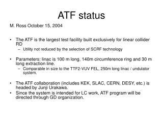 ATF status