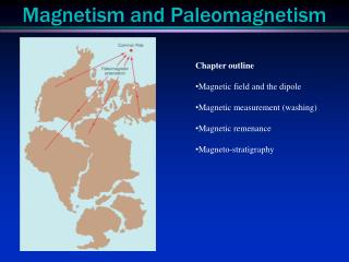 Magnetism and  Paleomagnetism