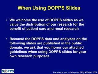 When Using DOPPS Slides