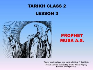 TARIKH CLASS 2 LE SSON 3