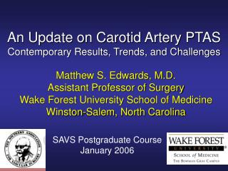 An Update on Carotid Artery PTAS Contemporary Results, Trends, and Challenges