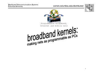 broadband kernels: