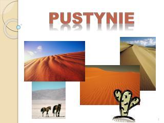Pustynie