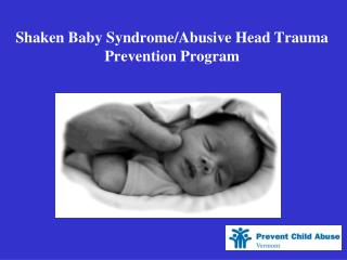 Shaken Baby Syndrome/Abusive Head Trauma  Prevention Program