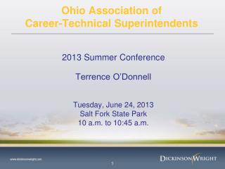 Ohio Association of  Career-Technical Superintendents