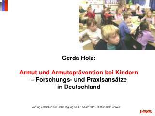 Vortrag anlässlich der Bieler Tagung der EKKJ am 03.11.2006 in Biel/Schweiz