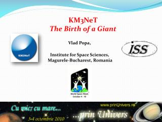 KM3NeT The Birth of a Giant