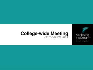 College-wide Meeting