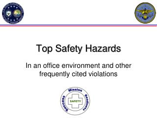Top Safety Hazards