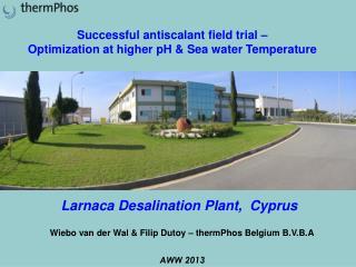 Larnaca Desalination Plant,  Cyprus